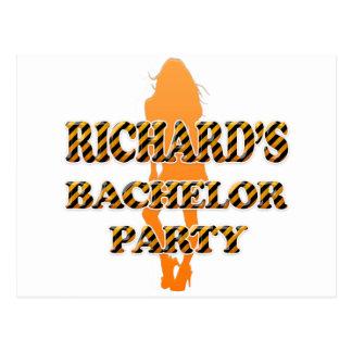 Richard's Bachelor Party Postcard