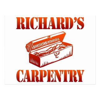 Richard's Carpentry Postcard
