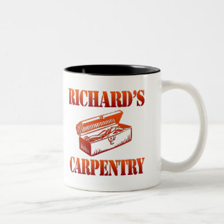 Richard's Carpentry Two-Tone Coffee Mug