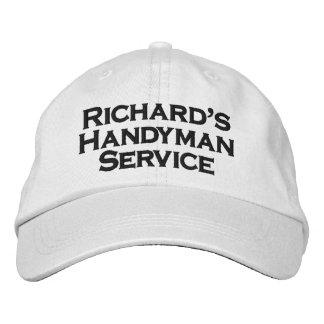 Richard's Handyman Service Embroidered Baseball Caps