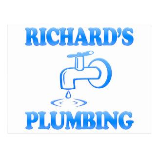 Richard's Plumbing Postcard