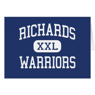 Richards Warriors Middle Columbus Georgia Cards