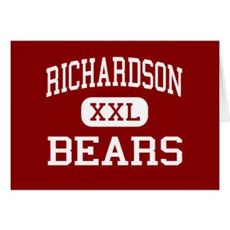Richardson - Bears - High - West Monroe Louisiana Card