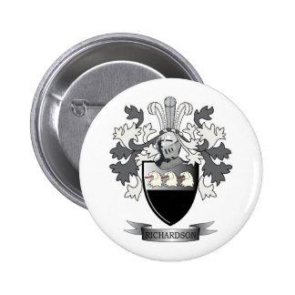 Richardson Coat of Arms Button