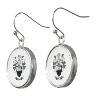 Richardson Coat of Arms Earrings