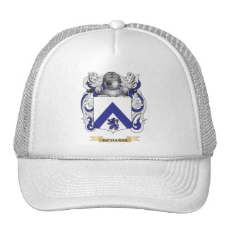 Richardson Coat of Arms (Family Crest) Hats