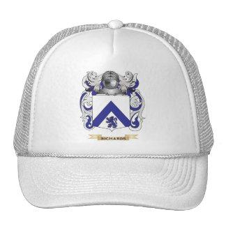 Richardson Coat of Arms (Family Crest) Mesh Hats
