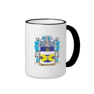 Richardson- Coat of Arms - Family Crest Ringer Coffee Mug