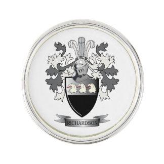 Richardson Coat of Arms Lapel Pin