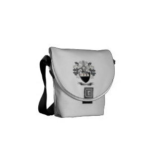 Richardson Coat of Arms Messenger Bag