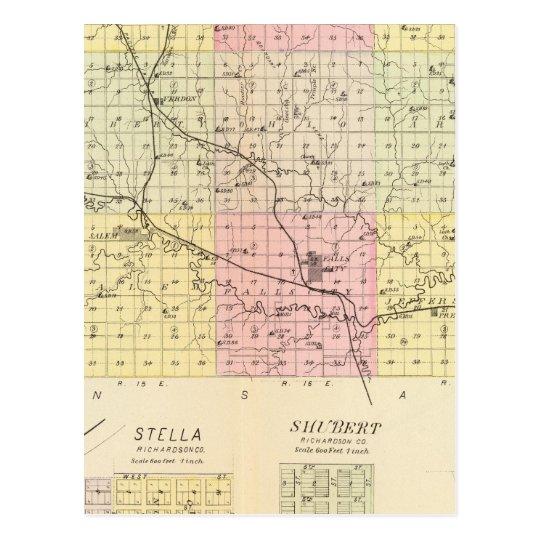 Richardson County, Nebraska Postcard