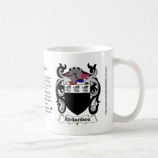 Richardson Crest mug