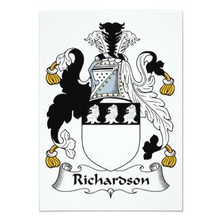 Richardson Family Crest Card