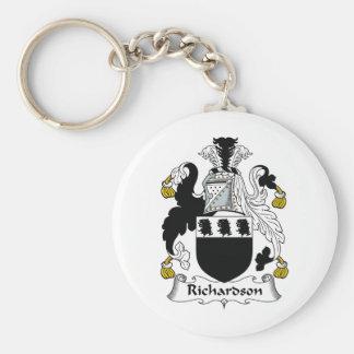 Richardson Family Crest Keychain