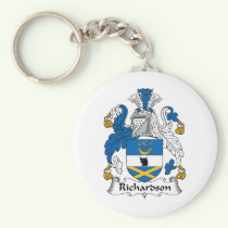 Richardson Family Crest Keychain