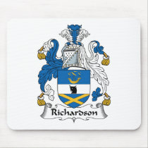Richardson Family Crest Mousepad