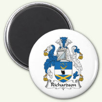 Richardson Family Crest Magnet