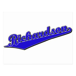 Richardson in Blue Postcard