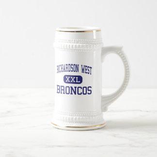 Richardson West - Broncos - Junior - Richardson 18 Oz Beer Stein
