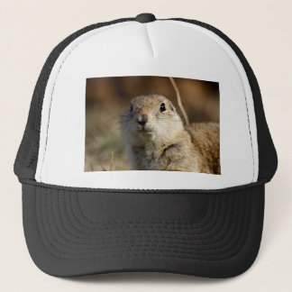 Richardsons Ground Squirrel, aka, Prairie Gopher Trucker Hat