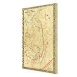 Richardson's Map of West Virginia Canvas Print