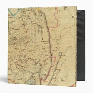 Richardson's Map of West Virginia Vinyl Binder