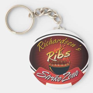 Richardson's Ribs Strikezone Keychain