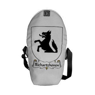 Richartzhoven Family Crest Courier Bags