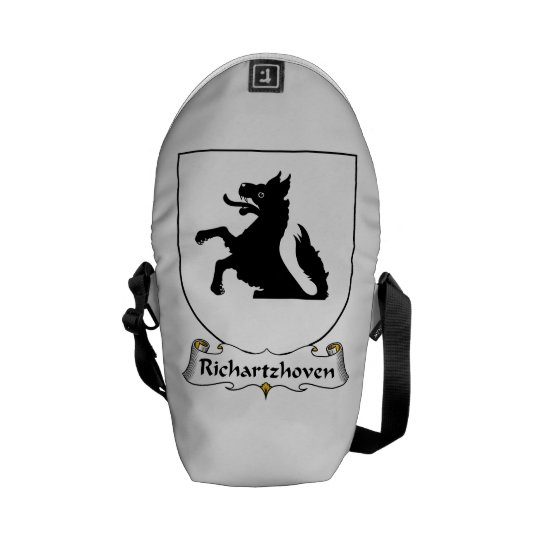 Richartzhoven Family Crest Messenger Bag