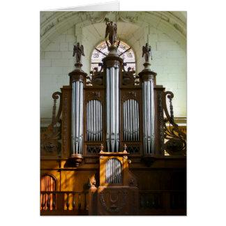 Richelieu pipe organ card