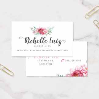 Richelle Luiz Custom Business Cards