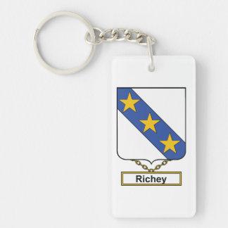 Richey Family Crest Acrylic Keychains
