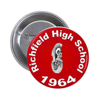 Richfield High School Class of 1964 Button