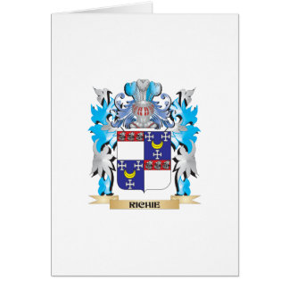 Richie Coat of Arms - Family Crest Card
