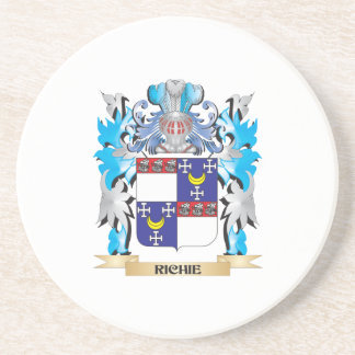 Richie Coat of Arms - Family Crest Beverage Coasters