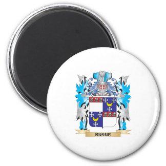 Richie Coat of Arms - Family Crest Fridge Magnet