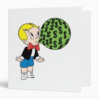 Richie Rich Blowing Bubble - Color Binder