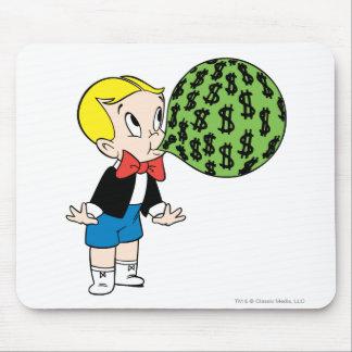 Richie Rich Blowing Bubble - Color Mouse Pad