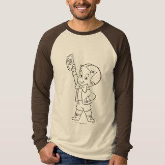Richie Rich Dollar Bill B&W Tee Shirt