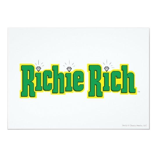 Richie Rich Logo - Color Card