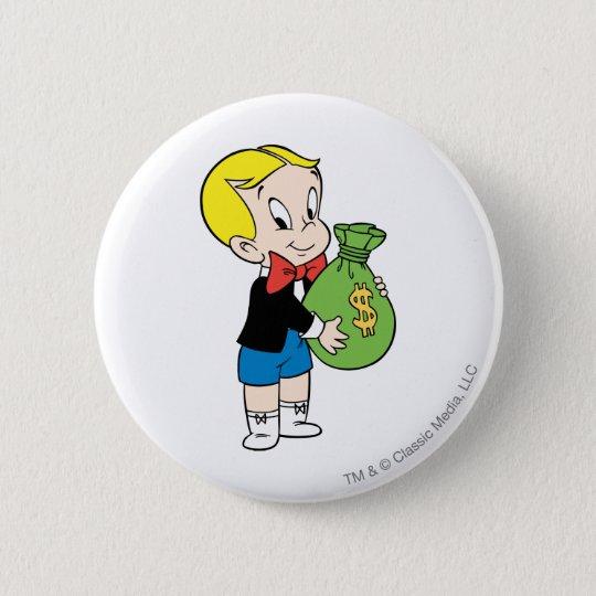 Richie Rich Money Bag - Color Button