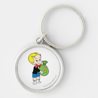 Richie Rich Money Bag - Color Keychain