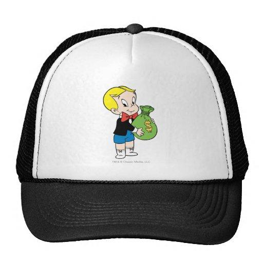 Richie Rich Money Bag - Color Mesh Hats