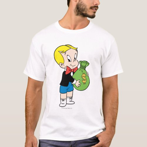 Richie Rich Money Bag _ Color T_Shirt