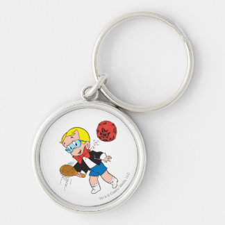 Richie Rich Paddle Ball - Color Keychain