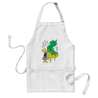 Richie Rich Playing Piano - Color Adult Apron
