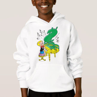 Richie Rich Playing Piano - Color Hoodie