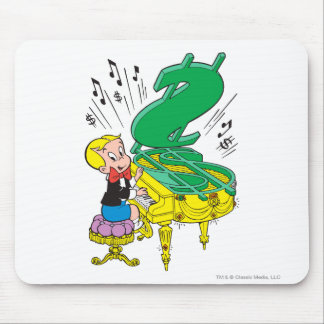 Richie Rich Playing Piano - Color Mouse Pad