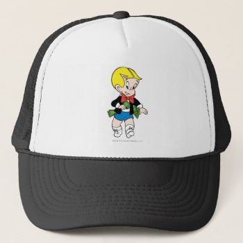 Richie Rich Pockets Full Of Money - Color Trucker Hat by richierich at Zazzle