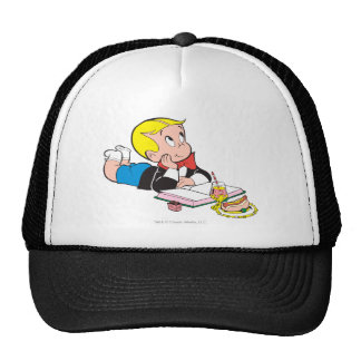Richie Rich Studying - Color Trucker Hat